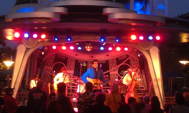Elvis, Scot Bruce, is at Tomorrowland Terrace this weekend