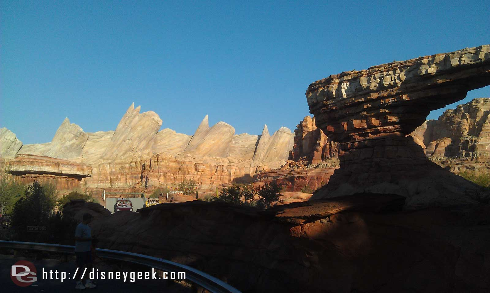 Heading into #CarsLand