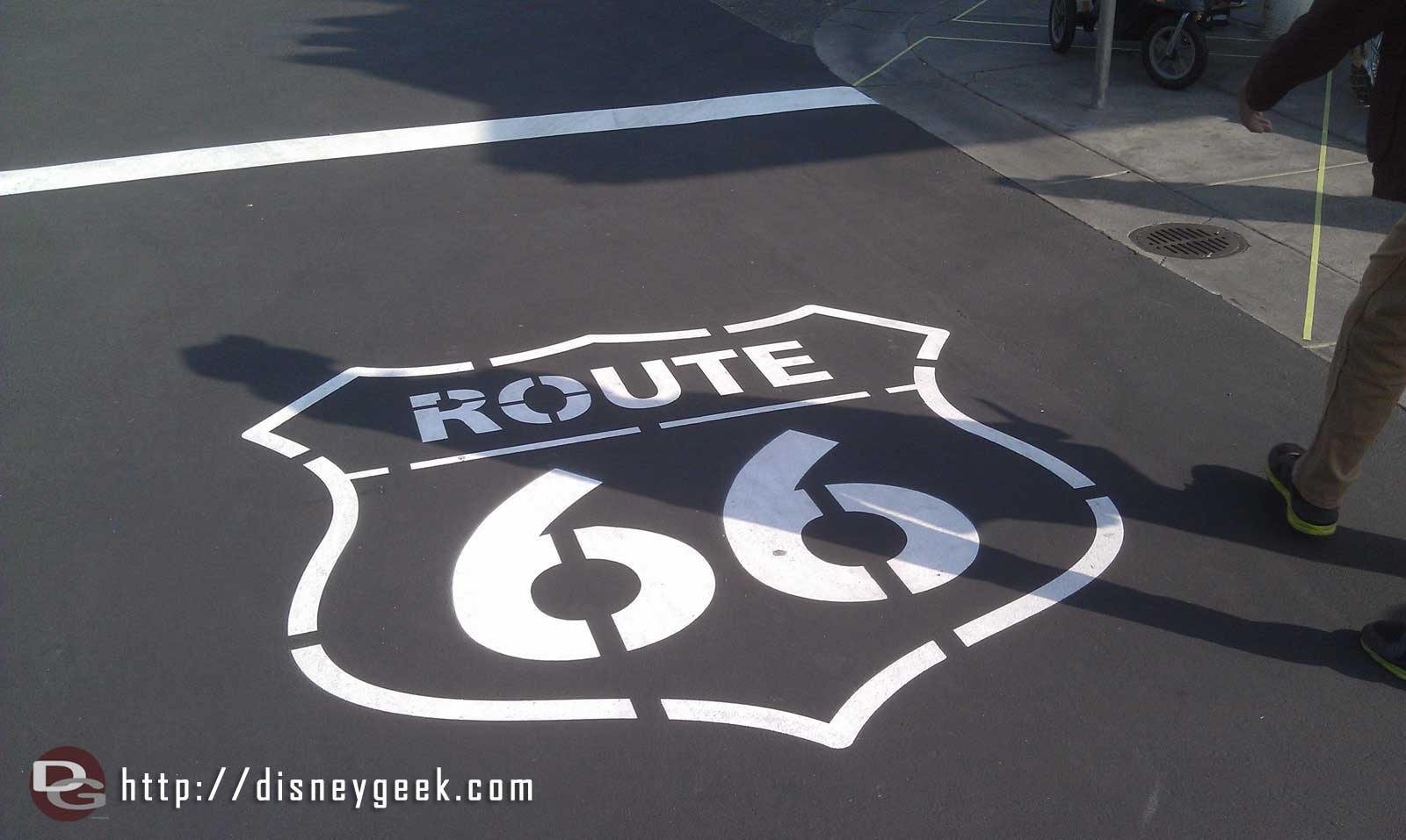 I heard that Route 66 was restripped again last week.  Nothing too drastic jumps out to me.