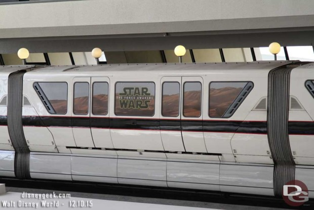 Star Wars: The Force Awakens Monorail @ the Contemporary Resort