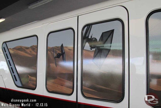 Star Wars: The Force Awakens Monorail @ Transportation & Tickeet Center