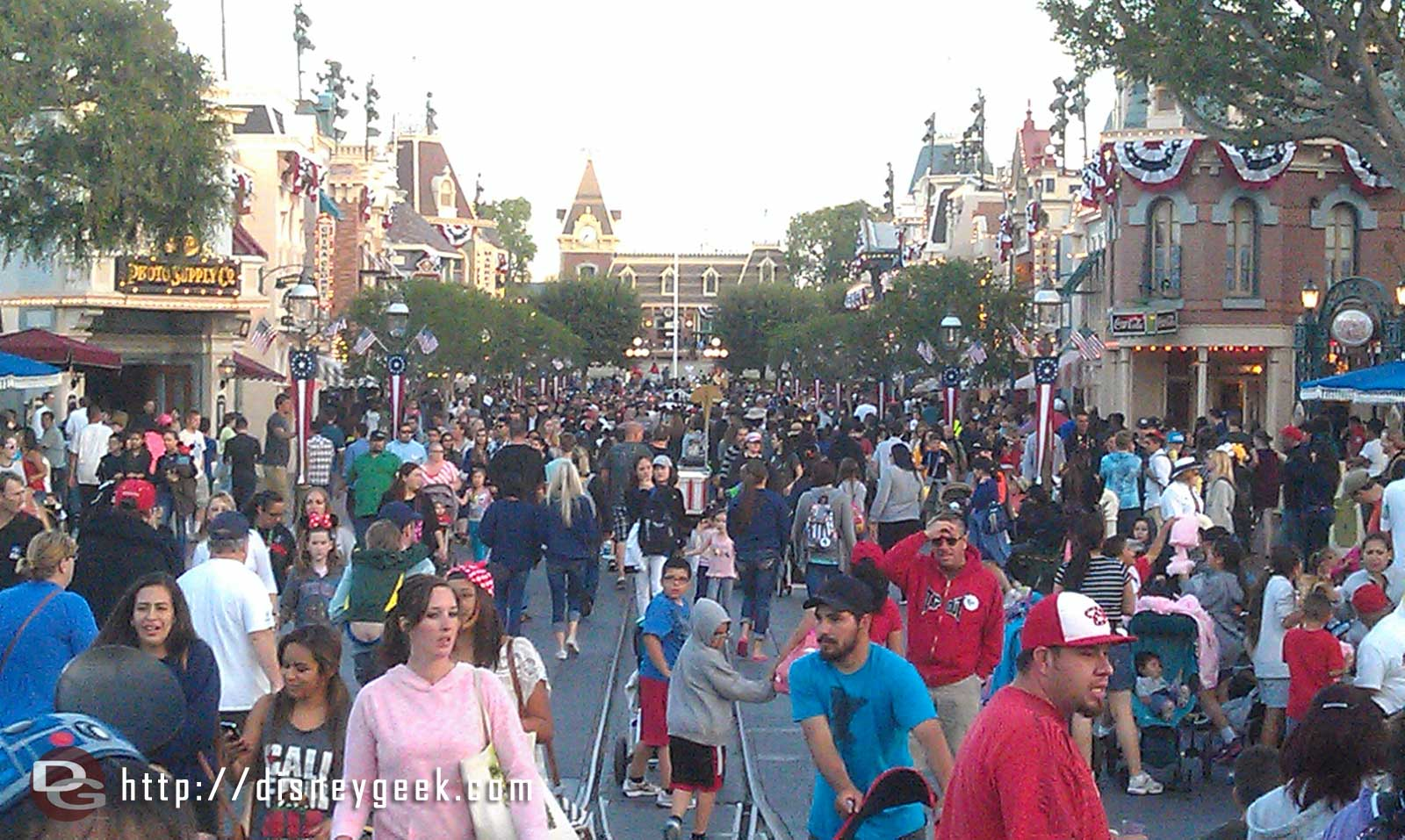 Looking toward Town Square