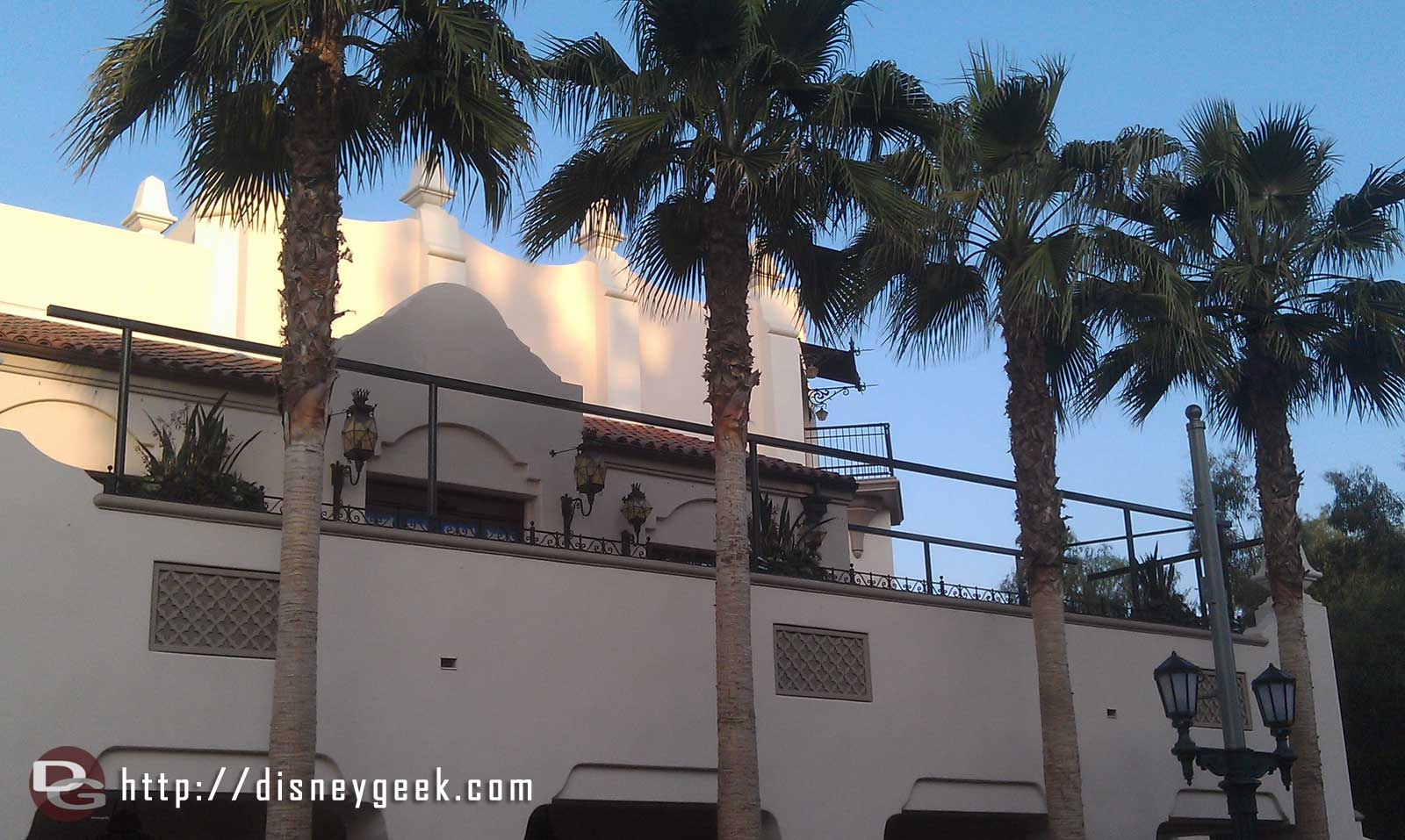 Looks like they are adding a shade structure to the patio seating of Carthay Circle