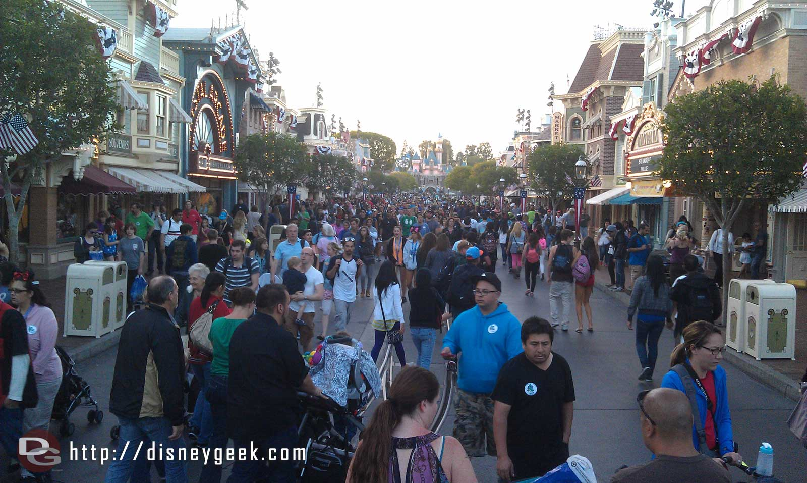 Main Street is nice and crowded now