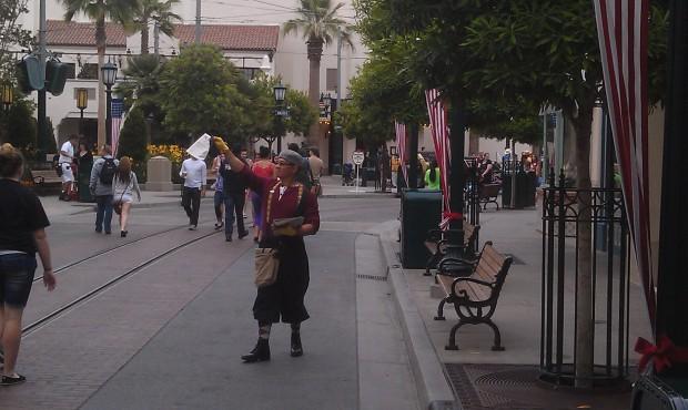 News Boys out on #BuenaVistaStreet. same spring bugle though