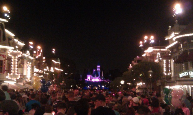 On Main Street waiting for Magical
