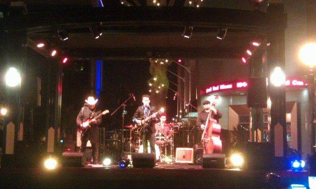 Ry Bradley at the Downtown Disney Stage