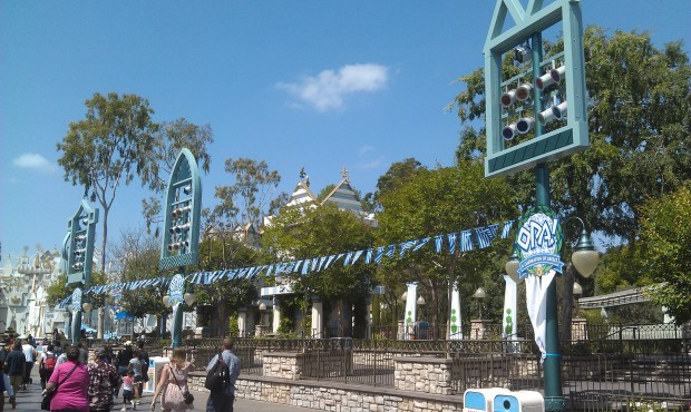 Small World Mall is decked out for the Greek celebration this weekend