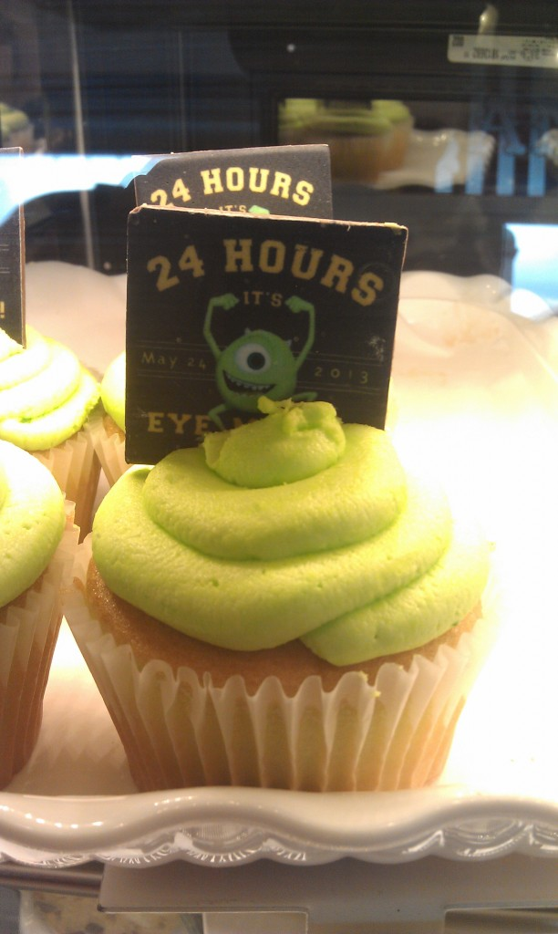 Specialty Cupcakes for today, $4.99. #JustGotHappier