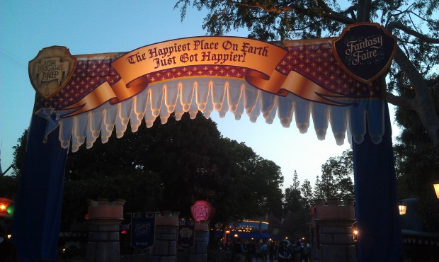 This evening is a Premiere party for the media and guests in Fantasyland