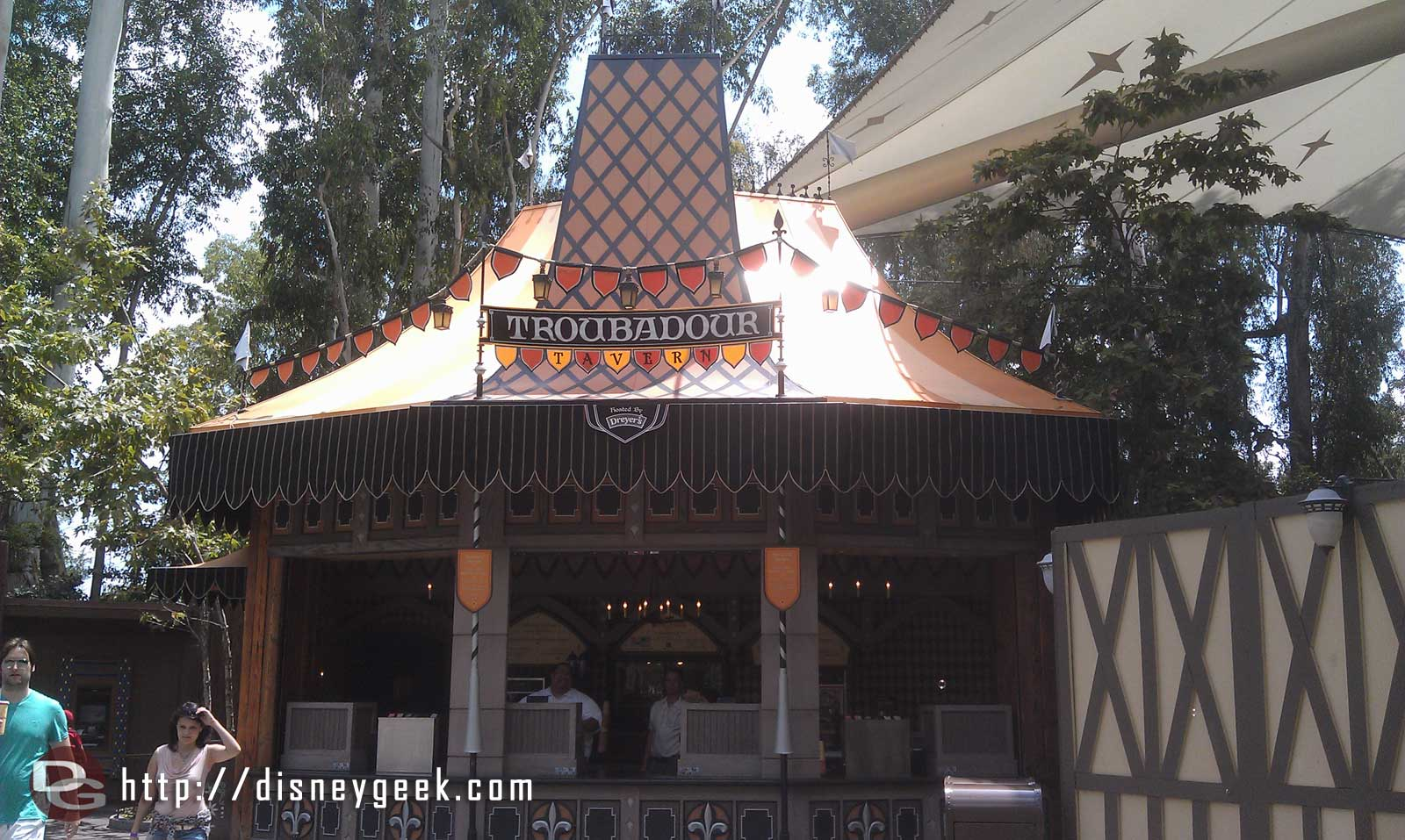 Troubadour Tavern has reopened.