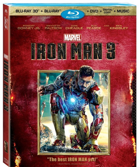 Marvel's Iron Man 3 Blu-ray Release September 24, 2013