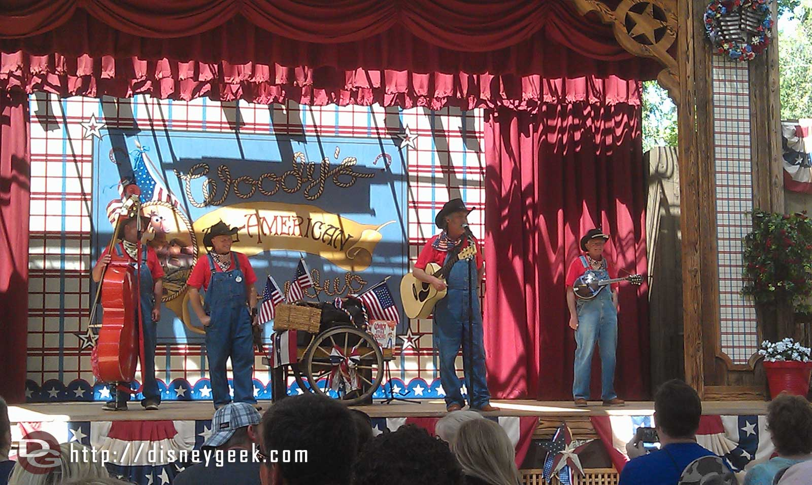Billy Hill and the Hillbillies are performing at the Roundup.