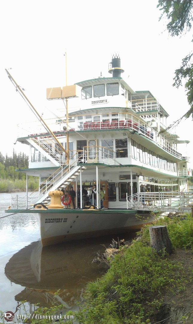 Riverboat cruise in Fairbanks #Alaska here is our paddlewheeler