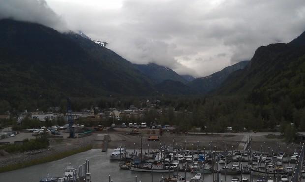 Skagway #Alaska from the ship