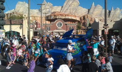 DJs Dance n Drive still going strong in #CarsLand one year later…