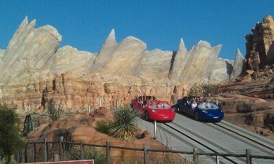 #CarsLand is turning one and I still stop more times than not to take a picture of Ornament Valley