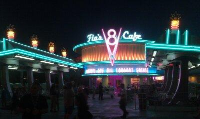Flos #CarsLand neon