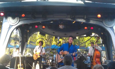 Elvis, Scot Bruce, performing at Tomorrowland Terrace tonight