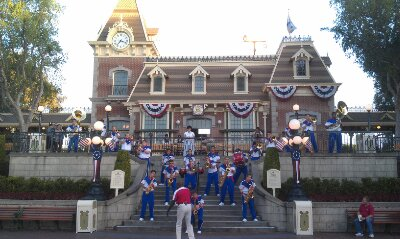 All-American College Band in Town Square
