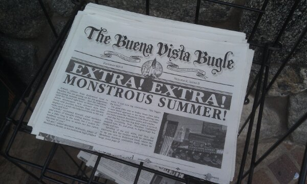 Summer Buena Vista Bugles are on newstands