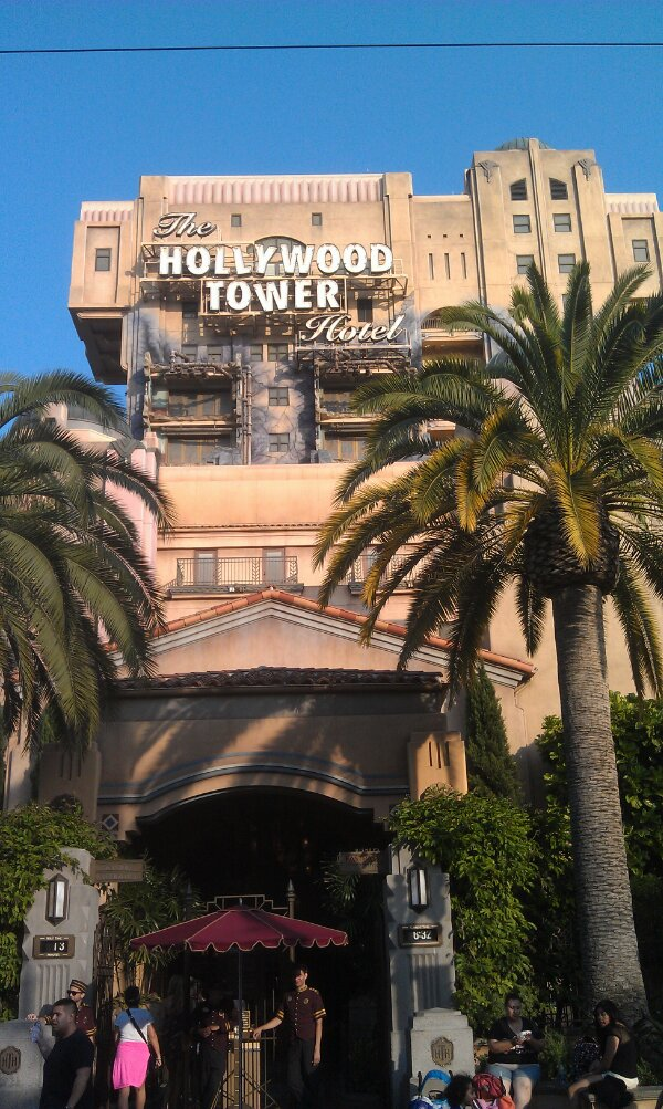 Tower of Terror only a 13 minute wait