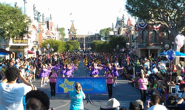 Dance the Magic filled Main Street and then some