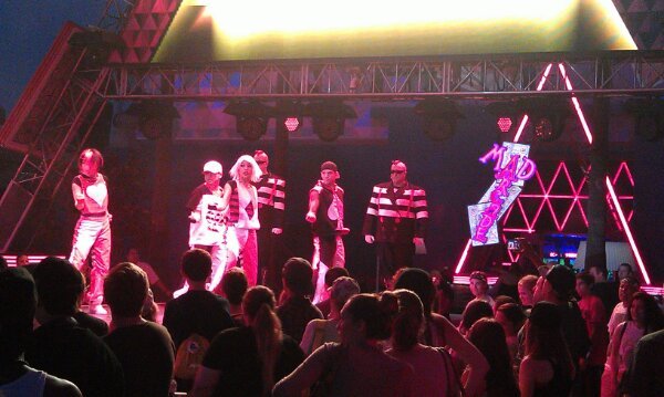 Stopped by the #MadTParty as the Hottest Deck in Town took to the stage
