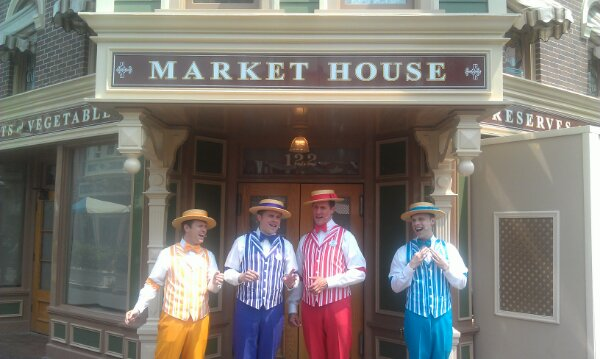 This week the Dapper Dans have a boy band medley in their sets #LimitedTimeMagic