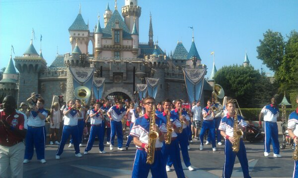 The All American College Band Castle set