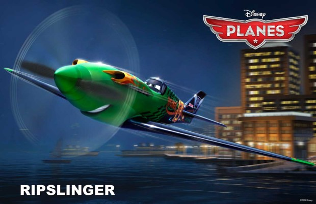 The reigning champion Ripslinger voiced by Roger Craig Smith