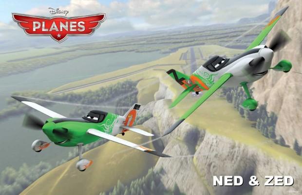 Ripslingers sidekicks Ned and Zed voiced by Gabriel Iglesias