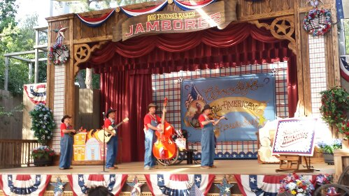 Stopped by the Big Thunder Jamboree to catch the Billies
