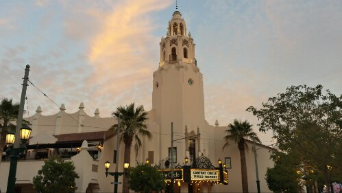 Carthay Circle this evening