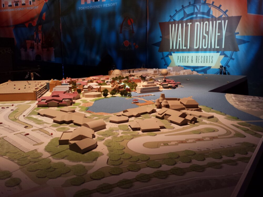 Disney Springs model #D23Expo