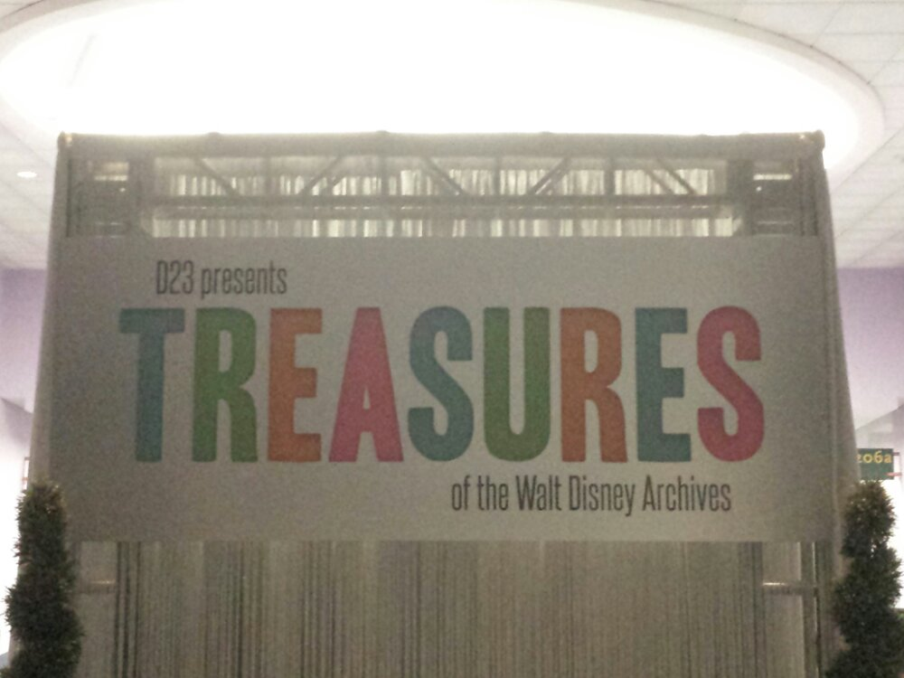 Time to visit the Treasures of the Walt Disney Archives #D23Expo