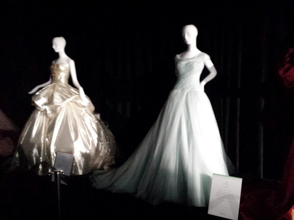 A couple dresses from Harrods Once Upon a Dream Collection #D23Expo