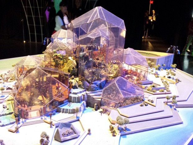 An Early Concept Model of the Land @ Epcot