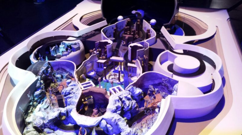 An early Spaceship Earth Concept Model