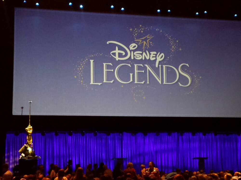Waiting for the Disney Legends #D23Expo