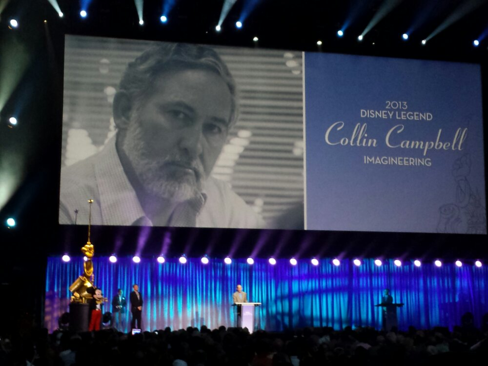 Collin Campbell – Disney Legends #D23Expo