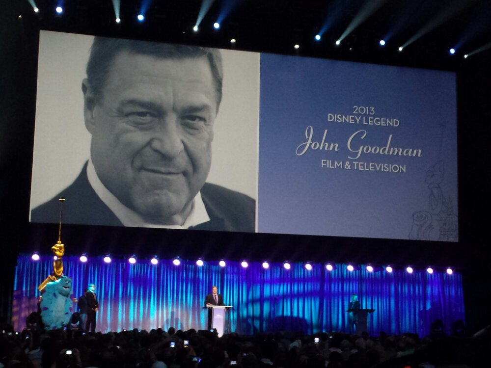 John Goodman – Disney Legends #D23Expo