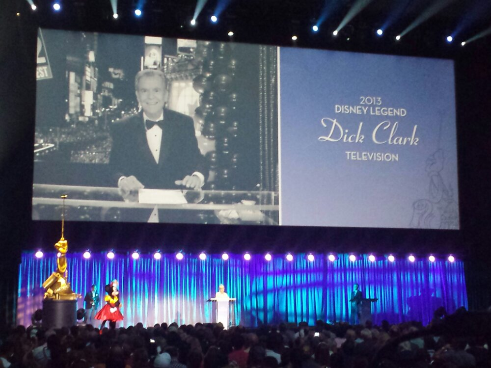 Dick Clark – Disney Legends #D23Expo