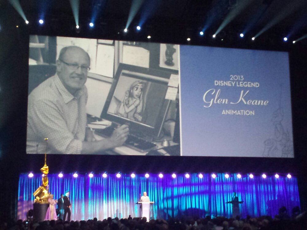 Glen Keane – Disney Legends #D23Expo