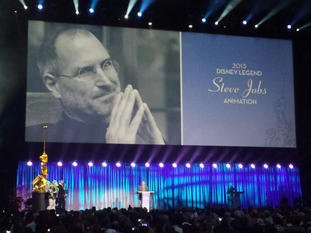 Steve Jobs – Disney Legends #D23Expo