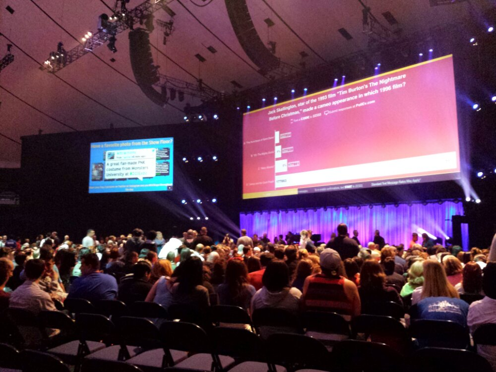 Waiting for the Alan Menken and Richard Sherman concert #D23Expo