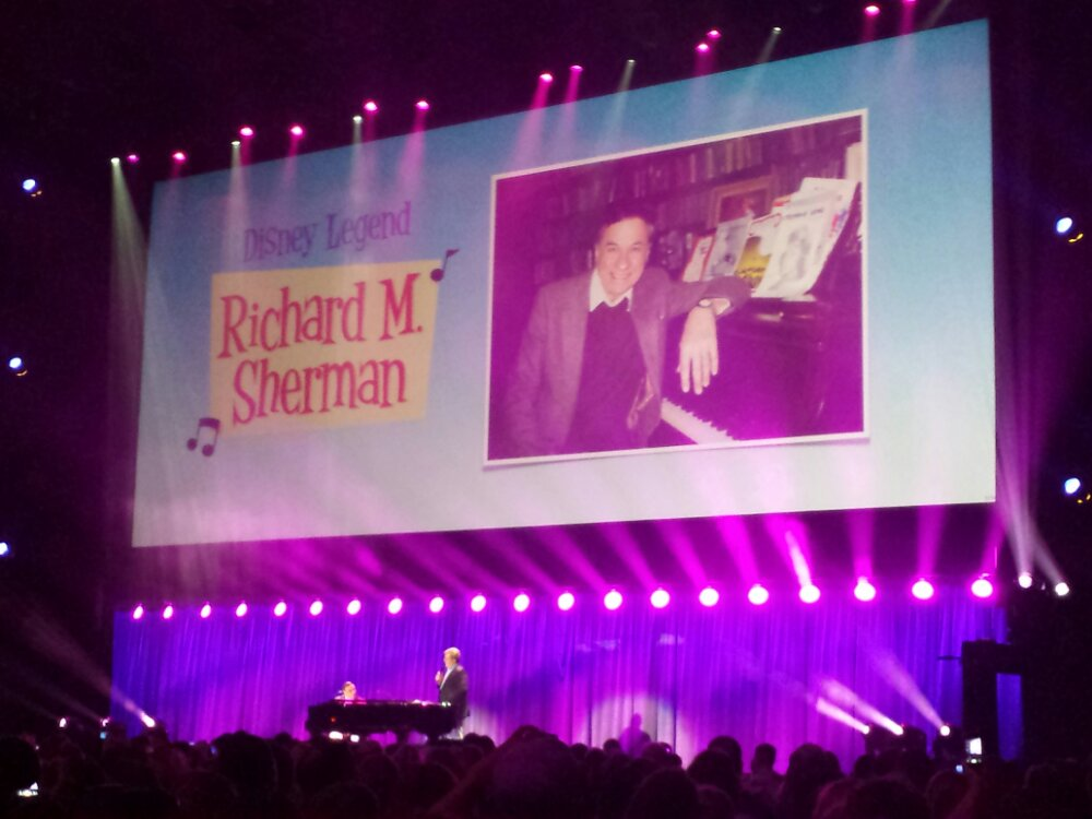 Richard Sherman performing first #D23Expo