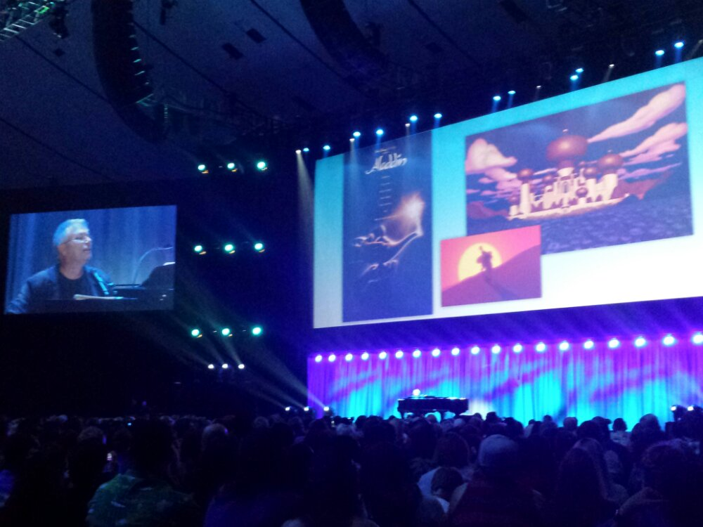 Aladdin is up next #D23Expo