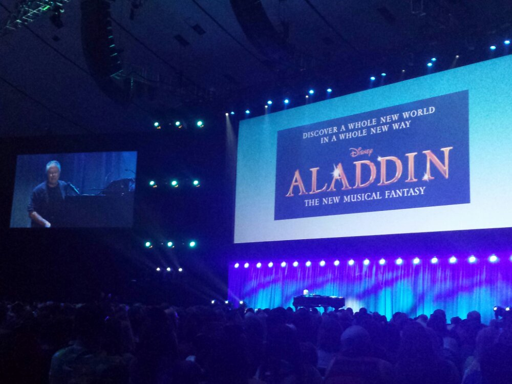 "Wrapping up with Aladdin the Musical ""Somebodys Got Your Back"" – #D23Expo"