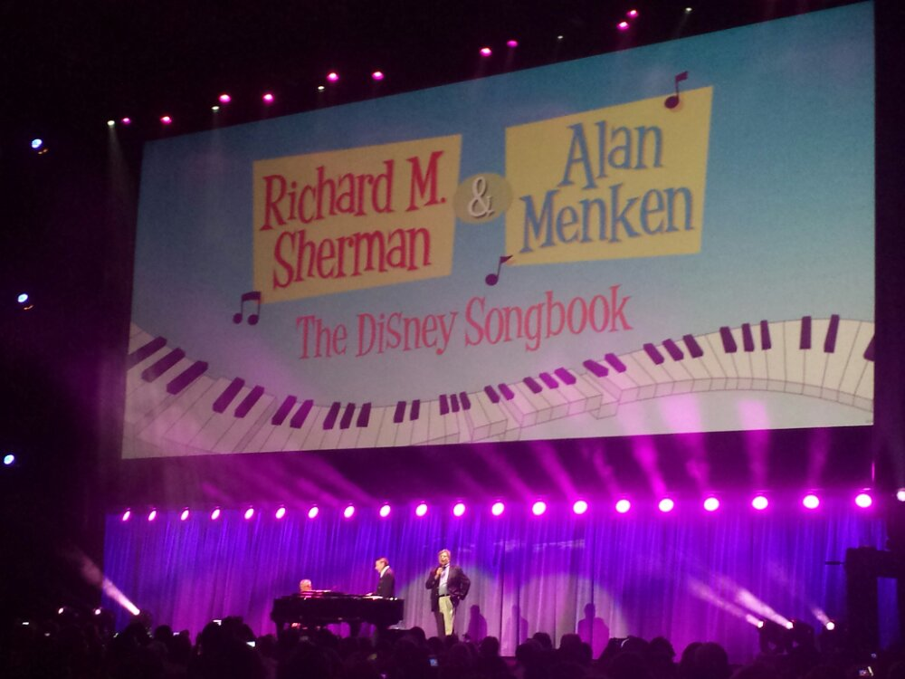 #D23Expo For the Finale they both took the stage for A Whole New World and Small World